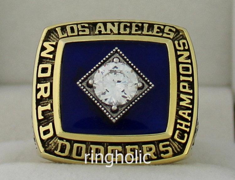 1981 Los Angeles Dodgers MLB World Series Championship Ring