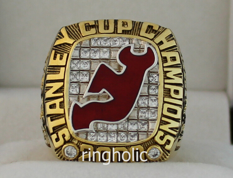 2000 New Jersey Devils NHL Stanley Cup Championship Ring 1e3a1c268