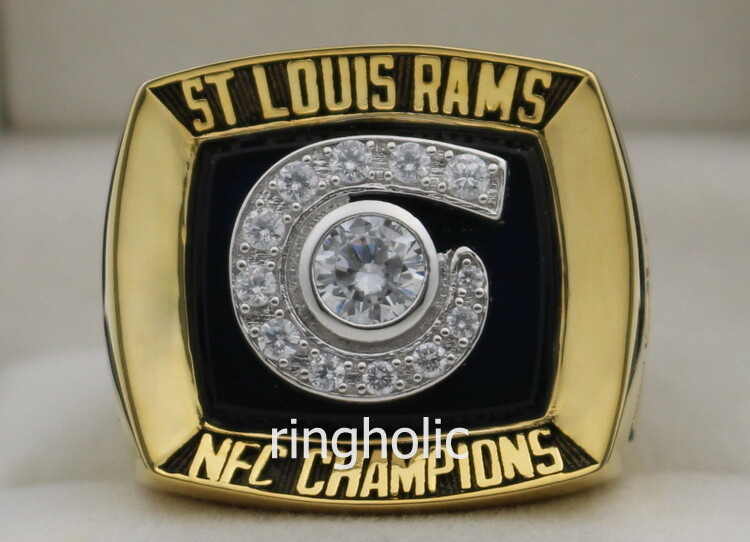 2001 Los Angeles St  Louis Rams NFC Championship Ring