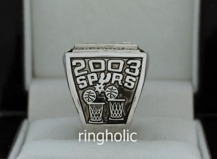 2003 San Antonio Spurs NBA Basketball Championship Ring  2003 San Antoni...