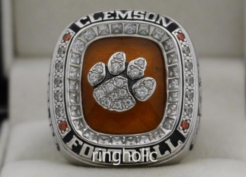 item championship catalog bowl htm ring tigers peach clemson rings